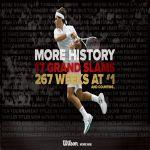 Roger Federer establece el récord de más semanas como número 1