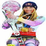 Lindsey Vonn, la Sharon Stone del esquí