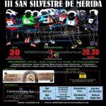 Mérida acoge la San Silvestre 2011