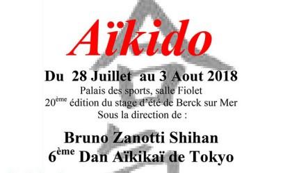 Aikido: Bruno Zanotti en Berck (Francia)