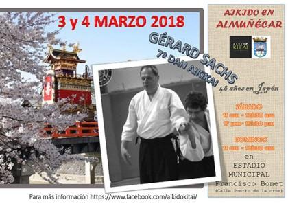 Aikido con Gérard Sachs en Almuñécar
