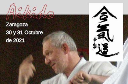 Aikido con Stephane Benedetti Shihan en Zaragoza