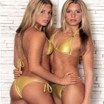Bellezas en el agua: Las gemelas Bia y Branca Feres