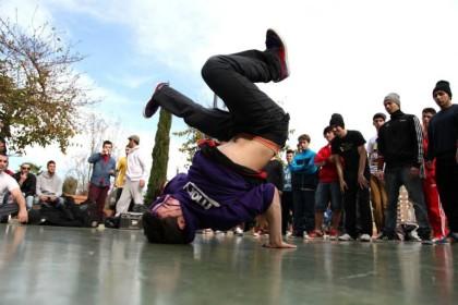 Breakdance en el Urbans Festival en Valencia