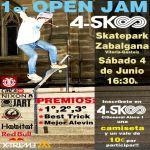 Open Jam 4-SK8 este Sabado
