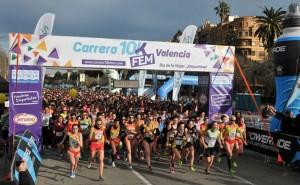 Carrera 10KFem -Valencia, una carrera única en España