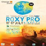 Por primera vez surf y longboard en el Roxy Jam de Biarritz