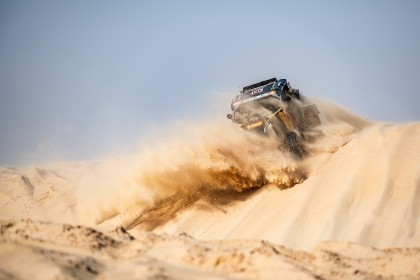 Complicada etapa maratón sin incidentes en el Dakar