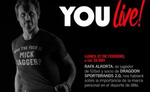 Conferencia de Rafa Alkorta: Crea tu marca personal como deportista