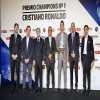 Cristiano Ronaldo recibe el Premio Champions number 1