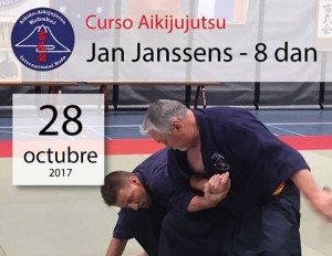 Curso de Aikijujutsu con Jan Janssens Sensei, 8º dan