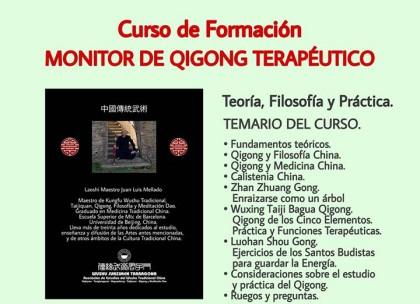 Curso de Formación de Monitor de Qigong Terapéutico