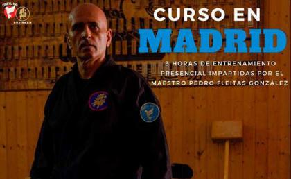 Curso en Madrid con el maestro Pedro Fleitas