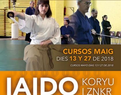 Curso Mensual ZNKR-Iaido/Koryu en Barcelona