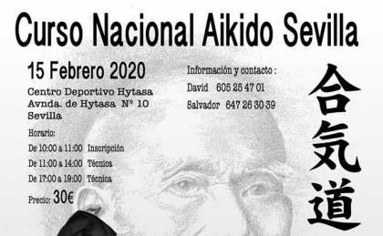 Curso Nacional de Aikido en Sevilla