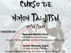 Curso de Nihon Tai-Jitsu en Burela (Lugo)