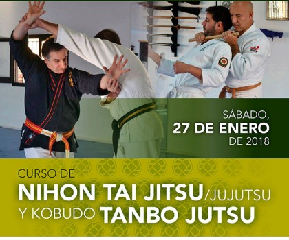 Curso Nihon Tai-Jitsu y Tanbo Jutsu en Barcelona
