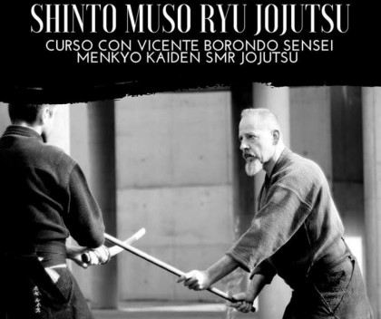Curso de SMR Jojutsu con Vicente Borondo en Barcelona