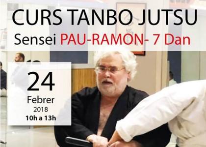 Curso de Tanbo-jutsu con Sensei Pau-Ramon, 7º Dan