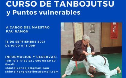 Curso de Tanbojutsu y puntos vulnerables en Granollers