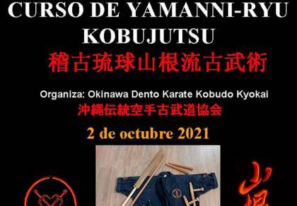 Curso de Yamanni-ryu Kobujutsu en La Torre de Claramunt