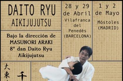 Daito Ryu Aiki jujutsu con Araki Sensei