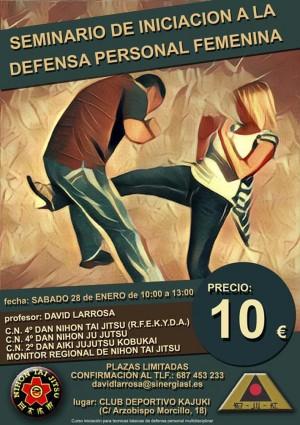 Defensa personal femenina (seminario iniciación)