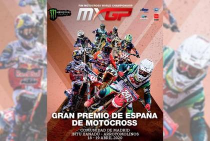 El Gran Premio de España de Motocross en Madrid a puerta cerrada