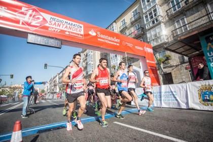 El Medio Maratón Santander de 21,097 kilómetros