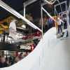 El primer trampolín de saltos indoor en Lucerna