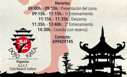 Encuentro de Artes Marciales Tradicionales en Sallent