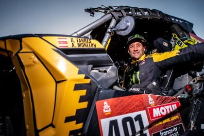 Gerard Farrés satisfecho con su Dakar