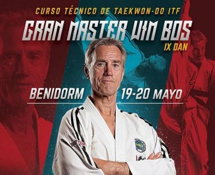 Gran Master Wim Bos en Benidorm