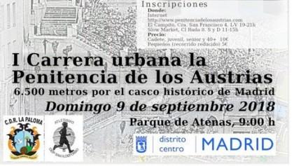 I Edición de la Carrera Urbana, La Penitencia de los Austrias