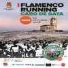 I Flamenco running Cabo de Gata