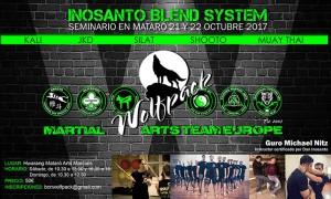 Inosanto Blend System: Seminario en Mataró