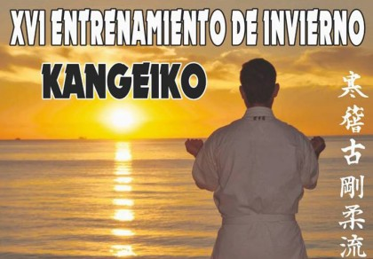 Kangeiko (entrenamiento de invierno) en Torremolinos