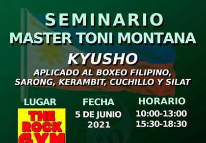 Kyusho: Seminario con master Toni Montana