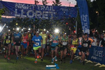 La 5ª edición del Night Trail de Lloret de Mar
