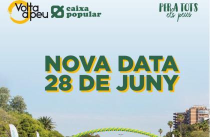 La 66ª edición de la Volta a Peu València a junio