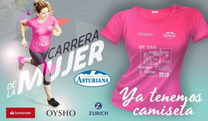 La camiseta de la Carrera de la Mujer 2019