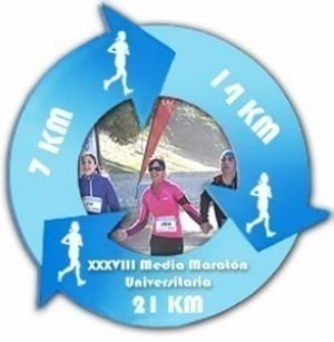 La Carrera Para Todos. XXXVIII Media Maratón Universitaria
