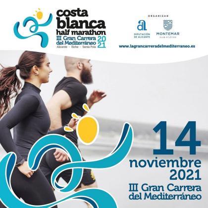 La Costa Blanca Half Marathon, la Gran Carrera del Mediterráneo 2021