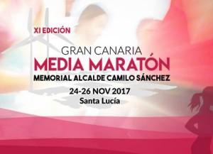La Gran Canaria Media Maratón en Santa Lucia