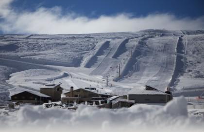 La primera edición del Snowcross La Covatilla