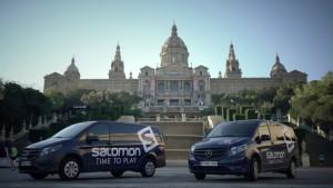La V Edición de la Salomon Run Barcelona