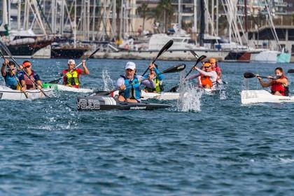 La VII Barcelona Paddle Race con 14 kms de recorrido