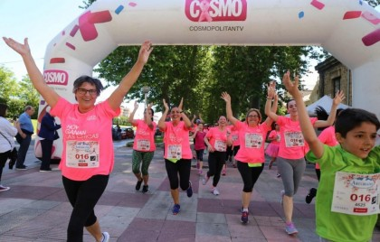 La XII Carrera de la Mujer de Vitoria-Gasteiz 2019.