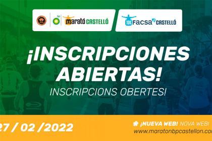 La XII edición de Marató bp Castelló abre inscripciones