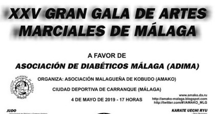La XXV Gran Gala de artes marciales de Málaga